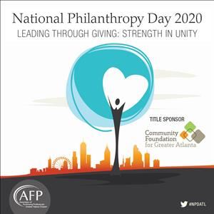 Virtual Event: National Philanthropy Day - REGISTER BY OCTOBER 23rd!