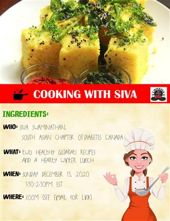 Cooking With Siva Swaminathan