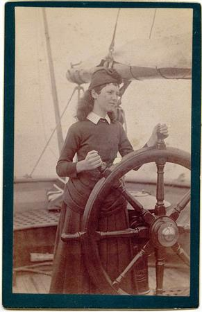 Lady at the Helm Race