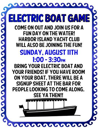 Electric boat event