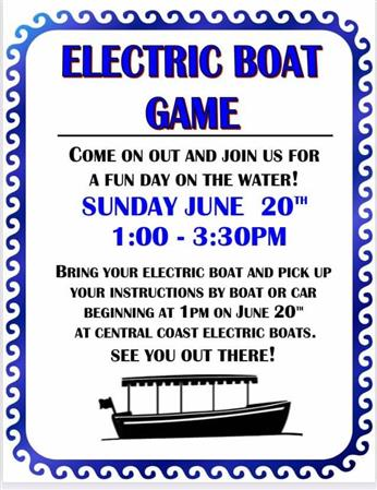 Electric Boat Games