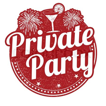 Private party rental