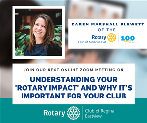 Why our 'Rotary Impact' is important for fundraising, member engagement, and attracting new members