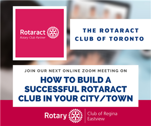 How to build and maintain a successful Rotaract club