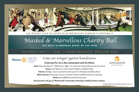 The Masked Ball - Hydro Majestic, Medlow Bath