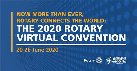 The First Rotary Virtual International Convention