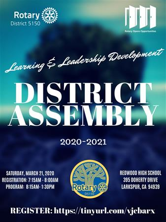 District 5150 Assembly