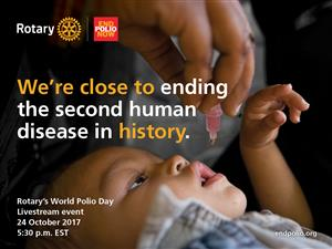 While it is World Polio Day,......