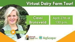 a virtual Visit to a Dairy Farm(her)