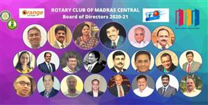 Madras Centrale and CK Rotary - sister clubs.