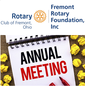 Fremont Rotary Foundation Annual Meeting