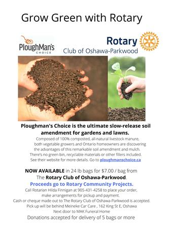 Grow Green with Rotary Fundraiser