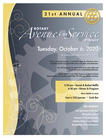 Avenues of Service Dinner
