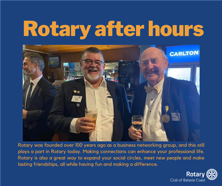 """""""Rotary After Hours"""" Networking & Fellowship 06/12"""