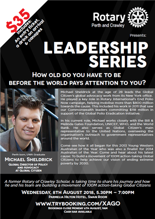Leadership Series: Michael Sheldrick