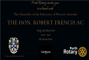Chancellor of the University of Western Australia