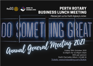 The Annual General Meeting 2021