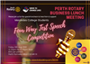 Perth Rotary   Four Way Test Speech Competition
