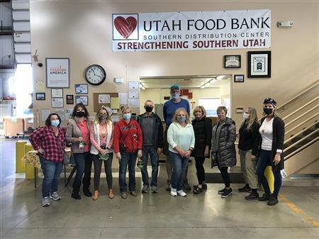 March Mobile Food Bank - Bagging & Boxing