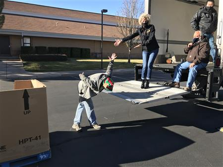 March Food Bank - Distribution St George
