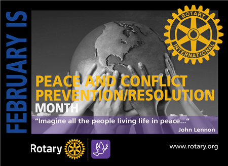 RI Theme of the Month: Peace & Conflict Prevention / Resolution
