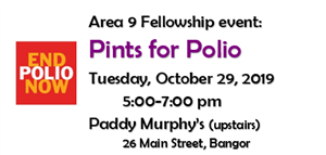 Pints for Polio at Paddy Murphy's