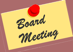 Monthly Board Meeting by Zoom