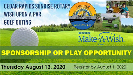"""""""Wish Upon A Par"""" Golf Outing & Fundraiser"""