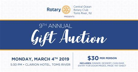 9th Annual Gift Auction