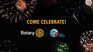 Celebration of our Rotary year accomplishments with appreciation to those who supported our efforts