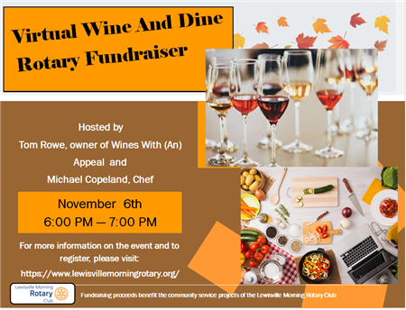 Rotary Wine and Dine Fundraiser