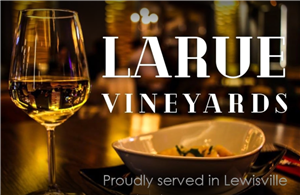 An evening mixer at Larue Winery in Old Town Lewisville