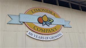 At Limoneira Olivelands Facility with lunch provided
