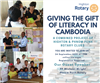 Giving the Gift of Literacy in Cambodia