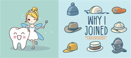 It's about the tooth fairy & Journey to Rotary