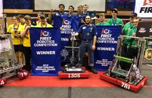 Robotics Team 1305 Competitions