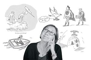 The Cartoonist as Cultural Commentator