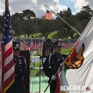 Field of Honor- Meeting held at Forest Lawn Glendale
