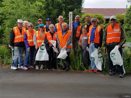 Adopt-A-Road Clean up (Lake Rd)