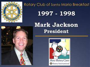 """Past President Mark Jackson will be """"in charge""""."""