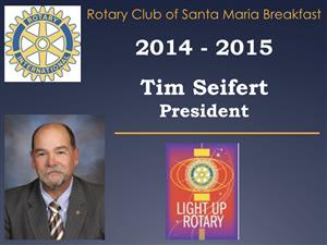 "County and City plans  / Past President Tim Seifert will be ""in charge""."