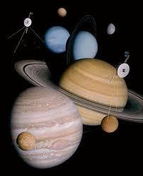 Gems of the Solar System: Discoveries of the Voyager, Cassini and New Horizons Spacecraft
