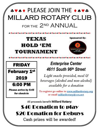 2nd Annual Texas Hold 'Em Tournament