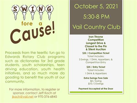 Swing Fore a Cause