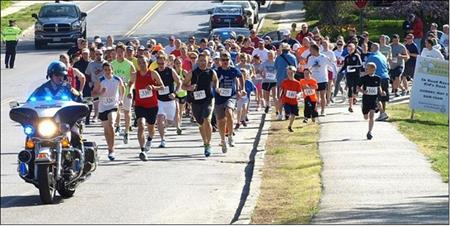 17th Annual Westborough Rotary 5K Road Race & Kids