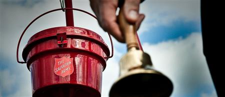 Salvation Army Bell Ringing at Chick-fil-A