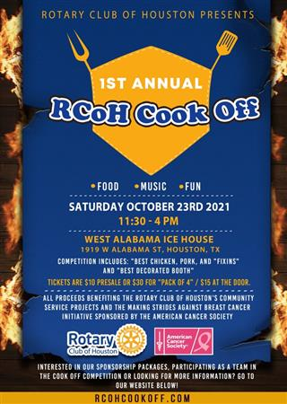 Rotary Club of Houston Cookoff