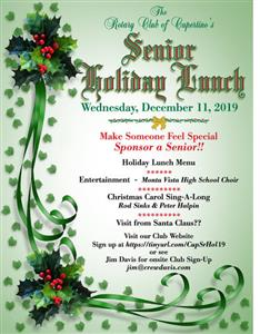 Senior Holiday Lunch