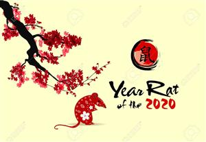Lunar New Year - Happy year of the Rat