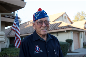 WWII Veteran from the 442nd RCT - the most decorated unit in U.S. military history